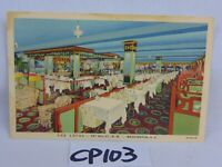 VINTAGE POSTCARD 1940'S WASHINGTON DC THE LOTUS DINING ROOM 727 14TH ST. NW