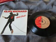 "CLIFF RICHARD VINYL Hot Shot picture sleeve DEMO  7 "" single MINT"