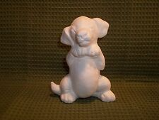 Dalmatian Puppy Sitting Up Begging ~  Ceramic Bisque Ready to Paint