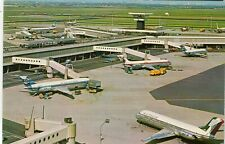 Netherlands Amsterdam - Airport old continental size chrome postcard