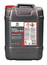 COMMA 20L VAG GROUP ALL MODELS SUPER LONG LIFE ANTI-FREEZE RED 20 LITRE 5(yrs)