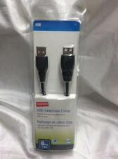 Staples USB Extension cable 6ft 1.8m W/ package Used for Xbox360 & PS3 cameras