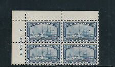 CANADA 1933 STEAMSHIP ROYAL WILLIAM VF MNH plate block of 4