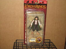 2003 LORD RINGS TWO TOWERS FRODO LIGHT-UP STING SWORD ACTION FIGURE MOC