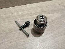 Emco Unimat SL Jaw chuck and key /Mandrin à couronne dentée 3 mors Réf n°1005