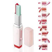 New Two-tone Tint Lip Bar Long Lasting Lipstick Lip Balm 8 Color Choose