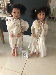 Philip Heath Dolls Precious I and Precious II