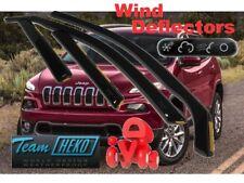 JEEP CHEROKEE KL  2013 -   5.doors  Wind deflectors  4.pc  HEKO 19125