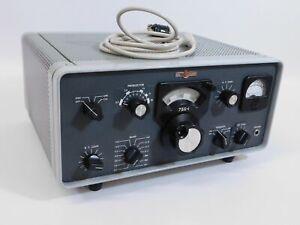 Collins 75S-1 Vintage Radio Receiver + Noise Blanker + Manual (works, SN 224)