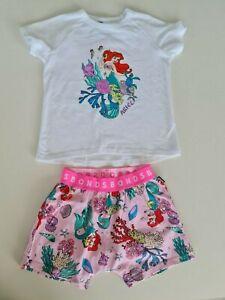 Bonds Kids Sleep Little Mermaid Short Sleeve PJ Set sizes 5 6 7 8 Pink Mermaid