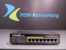 D-Link DGS-1008P 8-Port Gigabit PoE Switch NO POWER SUPPLY INCLUDED