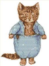 CROSS STITCH KIT -  TOM KITTEN  15X 21 CM