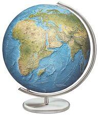 Columbus Stuttgart Illuminated 16 Inch Glass Desktop World Globe