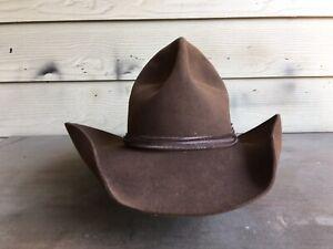 Resistol Vintage Cowboy Hat 7 1/8 Western 57 Cm Open Range Tom Mix Old West SASS