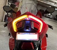 Ducati Panigale V4 Integrated LED Tail Light in Smoked Lens. Ducati V4 LED Tail