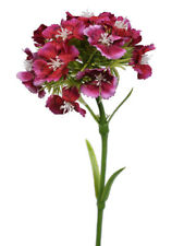 Artificial Silk Flowers Sweet William Mid Pink
