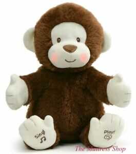 ~❤️~GUND CLAPPY THE MONKEY Animated sings plays games musical Baby Soft Toy~❤️~