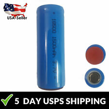 3.7 Volt Lithium Ion 18500 Rechargeable Battery 1500 mAh Batteries NEW LI-ION