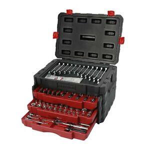 Craftsman 270 Piece Mechanic's Tool Set With 3 Drawer Case Box