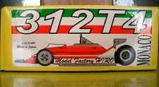 Factory HIRO 1/20 Ferrari 312T4 Monaco GP Full detail metal model kit