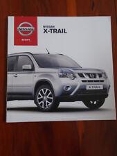 Nissan X Trail range brochure Jun 2012