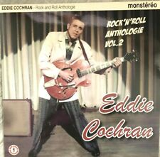EDDIE COCHRAN 33 TOURS 25 CM   COLLECTOR VINYL + CD PROMO HORS COMMERCE BIGBEAT