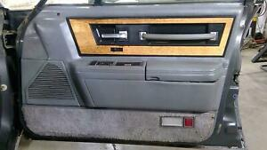 1986 Lincoln Continental Passenger Right Front Interor Door Panel (Grey AG)