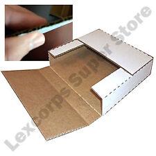 Lp Record Mailers 50 Qty 125x125x1 Variable Depth Box