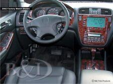 Dash Trim Kit for ACURA MDX 05 06 carbon fiber wood aluminum