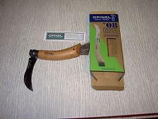 couteau opinel à champignon  lame acier inox numéro 8