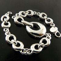 Bracelet Cuff Bangle Genuine Real 925 Sterling Silver S/F Solid Vintage Design