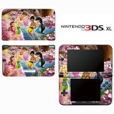 Vinyl Skin Decal Cover for Nintendo 3DS XL LL - Tinkerbell Fairy Pixie 2