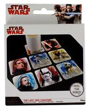 STAR WARS - Episode VIII The Last Jedi - Coasters - 8 Untersetzer für Getränke