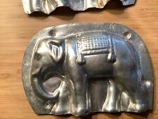 Moule à chocolat ancien Elephant indien / Chocolate mould mold antik