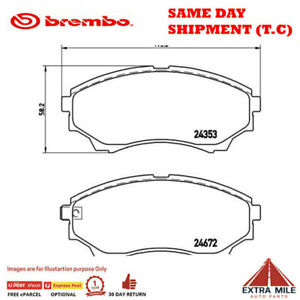 Front Brembo Brake Pads for Ford RANGER XL PK SBE1 2.5L Diesel RWD 07-11 P24086