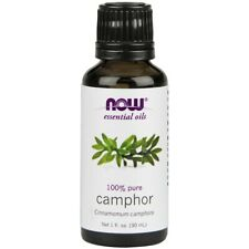 NOW Foods Camphor Oil 1 oz. FREE SHIPPING. MADE IN USA. FRESH
