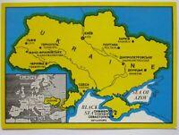 Ukraine (Exil) Staatsgebiet mit Krim, PC Verlag Ukrainian Nat. Aid USA (57781)