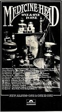 (Sds)24/3/1973Pg13 Medicine Head, One & One Is One Album Advert 7x12