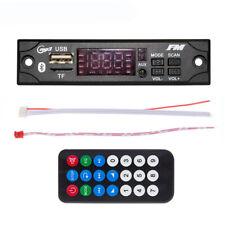 MP3 WMA WAV Wireless Bluetooth Decoder Board USB AUX 3.5MM With Remote For Car