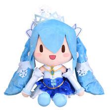Sega Vocaloid Hatsune Miku Winter Special Big Fluffy Snow Miku 2019 Plush SG1665