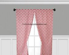 Chevron Curtain Panels Window Treatments Drapes Valance Gray Black Blue Curtains