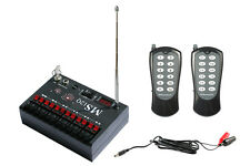 Dual Modes 12 Cue Wireless Fireworks Firing System-MS12QS - FCC / CE compliant