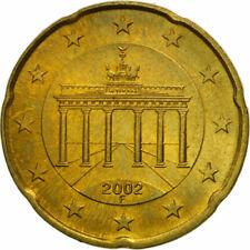 Pièces euro d'Allemagne Année 2002 20 Euro