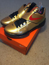 BNIB NIKE AIR ZOOM KD IV 4 GOLD MEDAL SIZE UK9 US10 EU44 VERY RARE NEW OFFWHITE