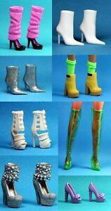 Barbie Fashionistas EXTRA Set 37 Choose Pick 1 PETITE ORIGINAL Heeled Foot Doll
