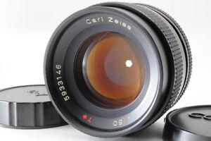 [Mint] Contax Carl Zeiss Planar T 50mm F/1.4 Lens AEJ C/Y Mount From Japan