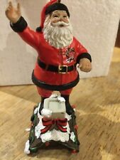 """University Of Maryland Santa Roof Top Ornament The Memory Co New 3"""" Tall NCAA"""