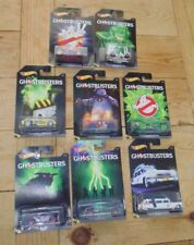 Ghostbusters Hotwheels Carded Sealed x 8 ECTO1
