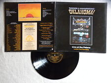"LP RODGERS AND HAMMERSTEIN ""Oklahoma ! Live at the palace"" STIFF OAK 1 UK §"