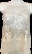 La Perla Camas all white Floral lace Nwt $328 Size Xs